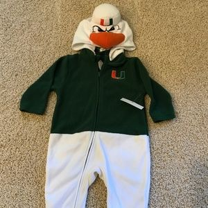 University of Miami Hurricanes Mascot Kids RARE